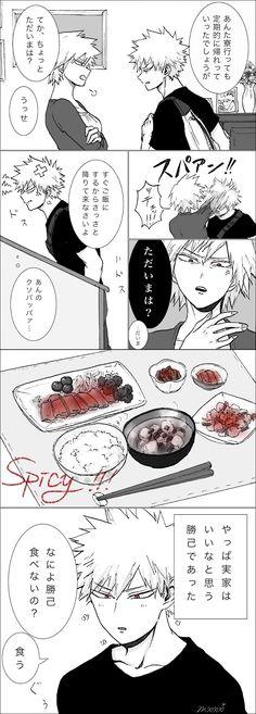 Bakugou Mitsuki & Bakugou Katsuki