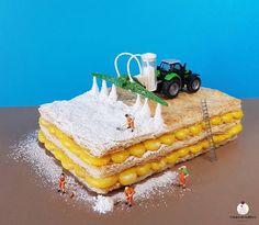 Il miglior fertilizzante per un dessert è lo zucchero a velo The best fertilizer for a dessert is the powdered sugar