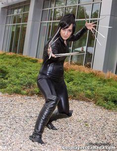 Lady Deathstrike by YumiSadamoto.com Lady Deathstrike, Photos Of Women, Pick One, Cosplay Girls, X Men, My Eyes, Leather Pants, Dresses, Fashion
