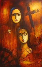 Image result for PAINTINGS OF GANESH HOLLOI