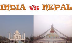 India vs Nepal - Blog di Viaggi - Viaggiatrice Dichiarata di Chiara Parodi Nepal, India, Varanasi, Taj Mahal, Building, Blog, Travel, Goa India, Viajes