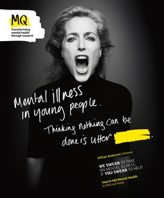 health campaign Gillian Anderson and Nicola Adams join to push for mental health cure Mental Health Posters, Mental Health Research, Mental Health Art, Mental Health Charities, Mental Health Awareness, Social Awareness, Gillian Anderson, Health Ads, Fitness Inspiration