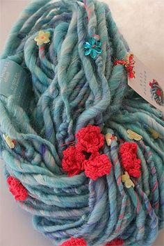 Knit Collage Gypsy Garden Yarn Mermaid Cafe