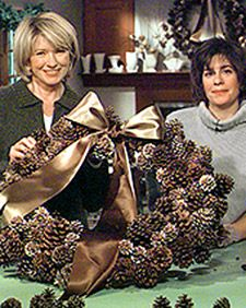 Pinecone Wreath | Martha Stewart