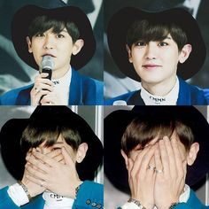 Chanyeol being so cute