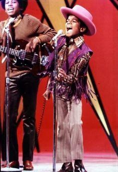 Michael Jackson on the Ed Sullivan show (1969)