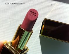 The Convenient Beauty: Review: Tom Ford Private Blend Lipstick Indian Rose