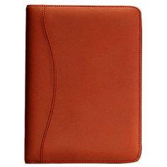 Royce Leather Junior Writing Padfolio Top Grain Nappa Leather 743-TAN-5