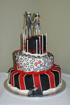 Nightmare Before Christmas Wedding Cake Topper Lot Disney Glasses Knife Book Jack Sally Halloween On Etsy 16900