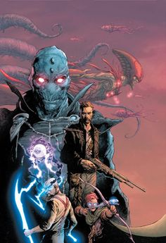 Image Expo Exclusive: Rick Remender & Jerome Opeña Pit Men Against Gods in New Fantasy Comic Seven to Eternity Dark Fantasy, Fantasy World, Fear Agent, Batman, Illustrator, Comic Kunst, Pop Culture Art, Vampire, Image Comics