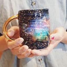 Sunday morning coffee in the most magical cup? Yes please. Make every aspect of your life beautiful. Via @anotherseattleartist