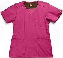 Pink Comfy Scrubs Top