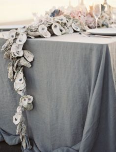Beach wedding centerpiece -