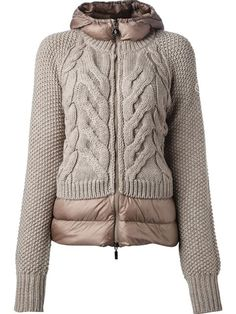 Moncler KNIT QUILTED JACKET