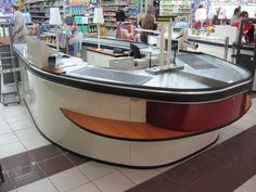 Retail Design | Checkouts | Retail Fixtures | by HMY Group, your global shopfitting partner