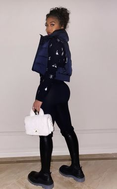 Dope Outfits, Swag Outfits, New Outfits, Trendy Outfits, Fashion Outfits, Fashion Ideas, Black Girl Fashion, Look Fashion, Fashion Beauty