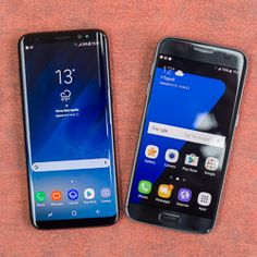 Samsung Galaxy S8 vs Galaxy S7 Samsung Galaxy S8 vs Galaxy S7You can see the progress in the Galaxy S8 without even using it: its got that lush new bezel-less screen. But what about the performance the camera and battery life?Photos: