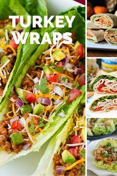 Healthy Turkey Wraps Recipes