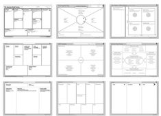 Design Thinking, Intelligence Collective, User Centered Design, Business Model Canvas, Competitive Intelligence, Shop Facade, Facade Design, Marketing Plan, Critical Thinking