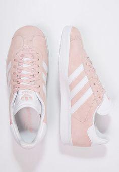 Baskets adidas Originals GAZELLE - Baskets basses - vapour pink/white/gold metallic rose: 99,95 € chez Zalando (au 24/07/16). Livraison et retours gratuits et service client gratuit au 0800 797 34.