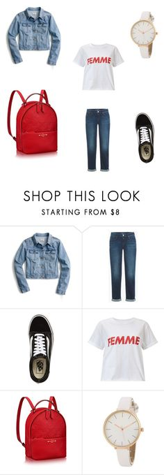 """Untitled #51"" by malloryann46 on Polyvore featuring J.Crew, Vans and Miss Selfridge"