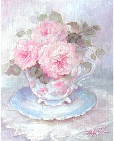 Victorian Tea - Debi Coules Romantic Art