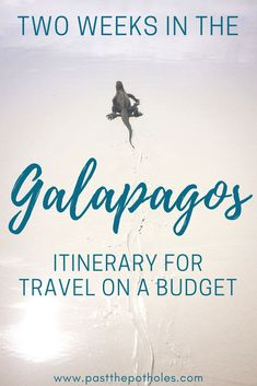 How to spend two weeks in the Galapagos. Galapagos budget itinerary for independent land-based travel. Learn from our experiences. Cuenca Ecuador, Equador, Galapagos Islands, Travel Organization, South America Travel, World Heritage Sites, Budgeting, Evolution, Travelling