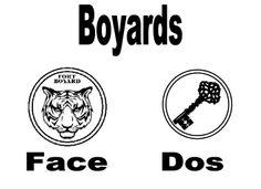Boyard Face et Dos  face and back