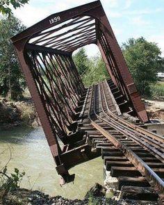 """Abandoned Bridge in Chester VT"""""""