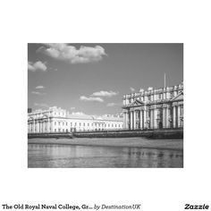 The Old Royal Naval College, Greenwich, England Stretched Canvas Prints