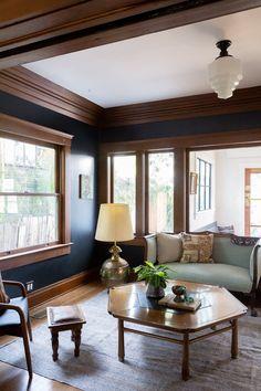 330 Dark Woodwork Rooms Ideas In 2021 Dark Wood Trim Home Wood Trim