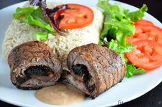 HOVĚZÍ ZÁVITKY SE SUŠENÝMI TRNKAMI  Výborný obed jednoduchý na prípravu na ktorom si určite pochutná každý príslušník rodiny. Ingrediencie (na 2 porcie): 2 hovädzie steaky 4-6 ks sušených sliviek 2 plátky slaniny (alebo šunky) 1 PL olivového oleja cibuľa morská soľ čierne korenie na omáčku: 1PL cícerovej múky 5 PL mlieka čierne korenie Postup:Tie najlepšie recepty aj s nutričnými hodnotami […]