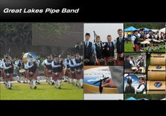 Great Lakes Pipe Band Ohio The Great Lakes pipe band aims for the highest level of performance. Great Lakes, High Level, St Patricks Day, Ohio, Bands, Photo Wall, United States, Usa, Columbus Ohio