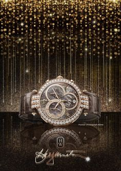 Twitter / HarryWinston: The House of Harry Winston is proud to present our 2014 Pre-Baselworld novelty, The Premier Chronograph 40MM.