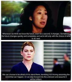 Grey's Anatomy! Cristina gone T-T