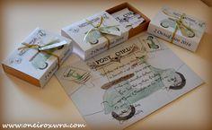 Αποτέλεσμα εικόνας για βαπτιση αγορι βεσπα Place Cards, Place Card Holders, Gift Wrapping, Gifts, Wedding, Board, Google, Vintage, Gift Wrapping Paper