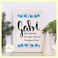 Poster Digital, Lettering Tutorial, Origami, Tumblr, Baby, Decorative Lettering, Proper Nouns, Shabby Chic Decorating, Meanings Of Names