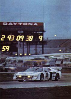 March - BMW M 1 - 24 Heures de Daytona 1980 - sport auto mars 1980.