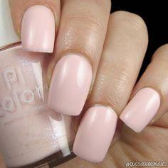 Soft Pink Nail Polish with Creme Finish Nail Polish nail polish 005 Soft Pink Nails, Pink Nail Polish, Navy Nails, Nail Polishes, Manicures, Cute Nails, Pretty Nails, Girls Nails, Clean Nails