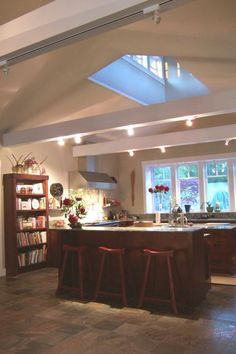 Contemporary Northwest Kitchen By Architect Nina Le Baron AIA