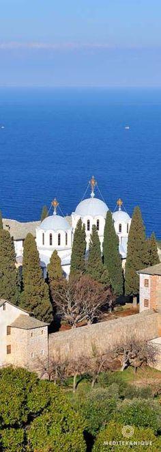 Monastery, Mount Ath photo expression