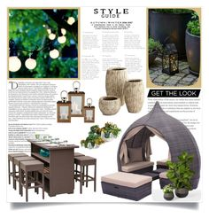 """""""Untitled #203"""" by hunnycakes ❤ liked on Polyvore featuring interior, interiors, interior design, home, home decor, interior decorating, Sirius, Balmain, Grandin Road and Cyan Design"""