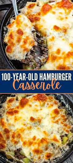 Best Hamburger Casserole Recipes, Ground Beef Casserole, Beef Recipes, Cooking Recipes, Beef Meals, Hamburger And Potatoes, Hamburger Dishes, Beef Dishes, Red Beans And Rice Recipe Crockpot