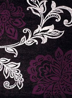 United Weavers of America Dallas Trousseau Rug, 8 x 10', Plum