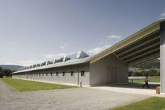 Equestrian Center by Francisco Mangado
