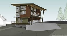 Alaska Prefab Cabin