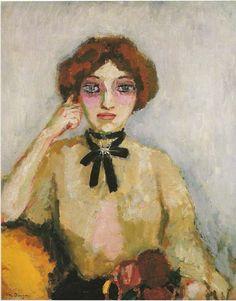 Unmarried Mother (1907-8) by Kees van Dongen (1877-1968), Dutch (liceolocarno)