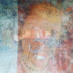 Because matte medium image transfers rarely come with guarantees. #studio #artjournal #artsnafu