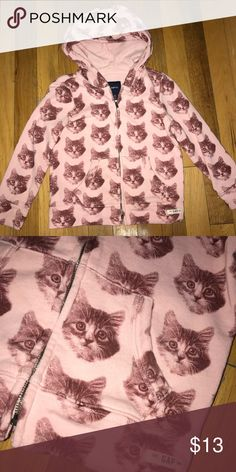Girls XS cat hoodie Gap Kids Previously owned and worn minimal times. No pilling, stains, fading etc. size XS 4 from Gap Kids GAP Shirts & Tops Sweatshirts & Hoodies