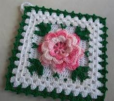 Yahoo! Image Search Results for pink crochet roses
